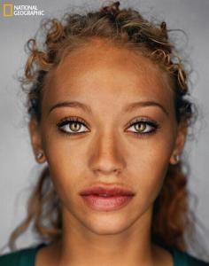 National Geographic determined what the 'average american' will look like by 2050.